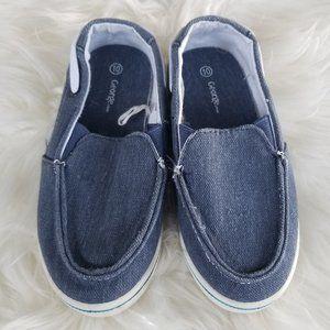 2/10🎆 George   Denim Kids Boat Shoes Loafers Blue